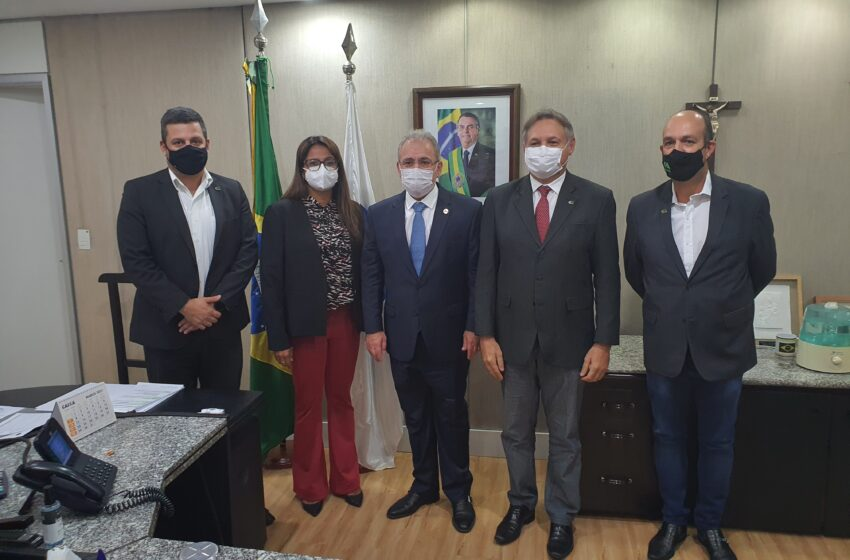 Diretora do Departamento de Saúde de Ivaiporã se reúne com ministro da Saúde nomeado por Bolsonaro