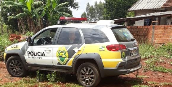 PM de Jardim Alegre registra ocorrências de furto e roubo