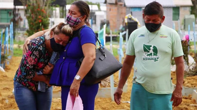 Brasil tem dia mais letal da pandemia da Covid-19: 3.251 mortes em 24 horas