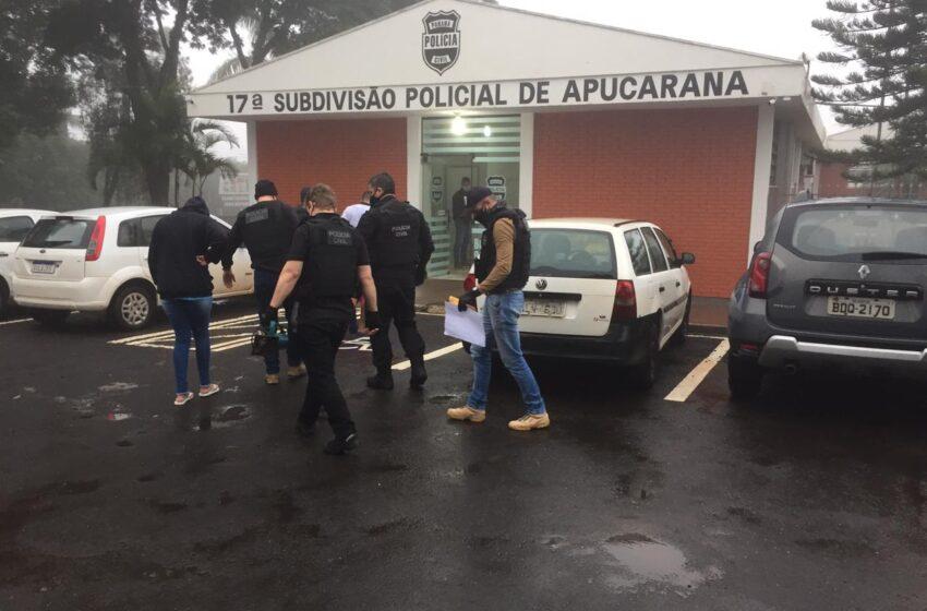 Equipe do Dr Ricardo começa a sexta-feira efetuando prisão em Apucarana