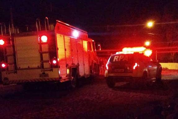 Polícia de Ivaiporã investiga suspeita de incêndio criminoso