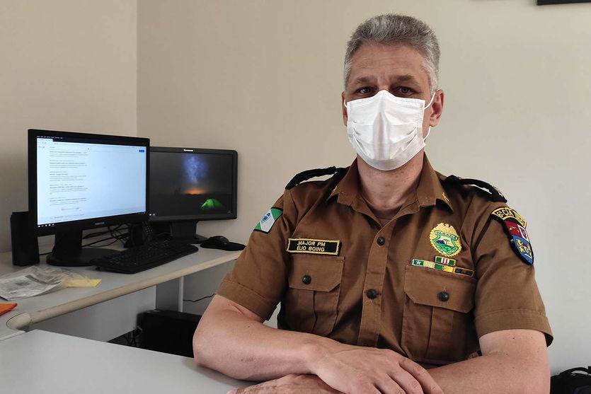 Major Élio Boing deixa Ivaiporã e assumirá subcomando do 5º BPM de Londrina
