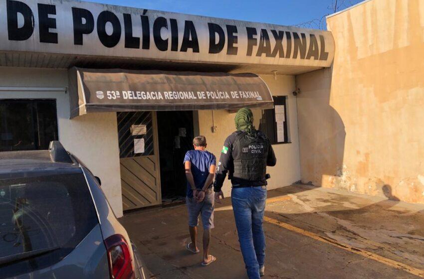 Polícia Civil prende suspeito de participação em roubo à residência do Prefeito de Grandes Rios