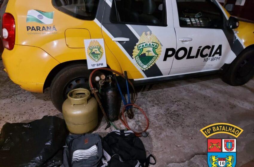 Polícia Militar frustra tentativa de roubo em Marilândia do Sul