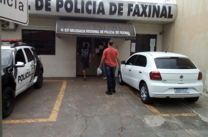 Polícia Civil de Faxinal cumpre mandado de prisão contra jovem por tráfico de drogas
