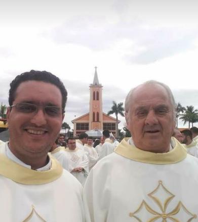 Padres de faxinal Paróquia Maria Mãe da Unidade continuam internados em Apucarana