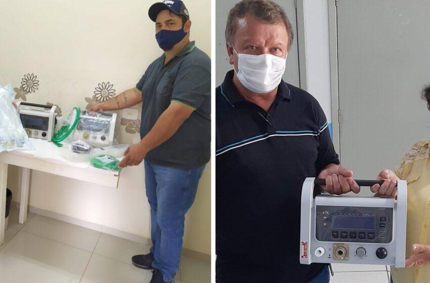Grandes Rios fornece respiradores para o Hospital da Providência