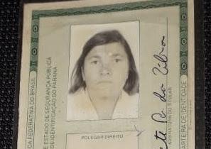 Falecimento da Senhora Bernadete Raymunda da Silva, de Borrazópolis