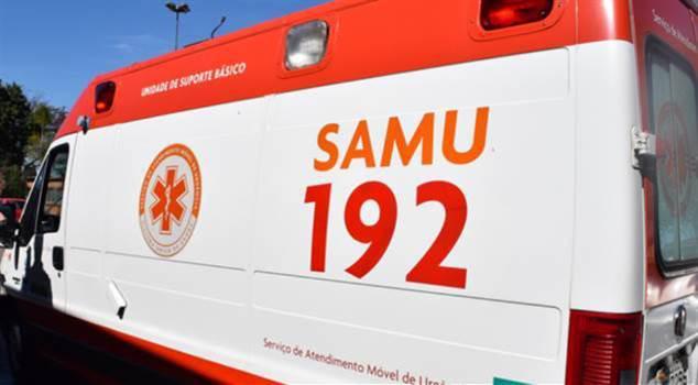 Motociclista gravemente ferido após acidente entre Faxinal e Mauá da Serra