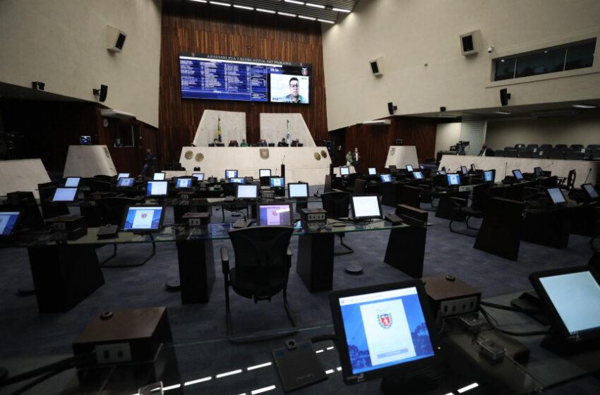 Assembleia aprova reconhecimento de calamidade pública em 66 municípios paranaenses