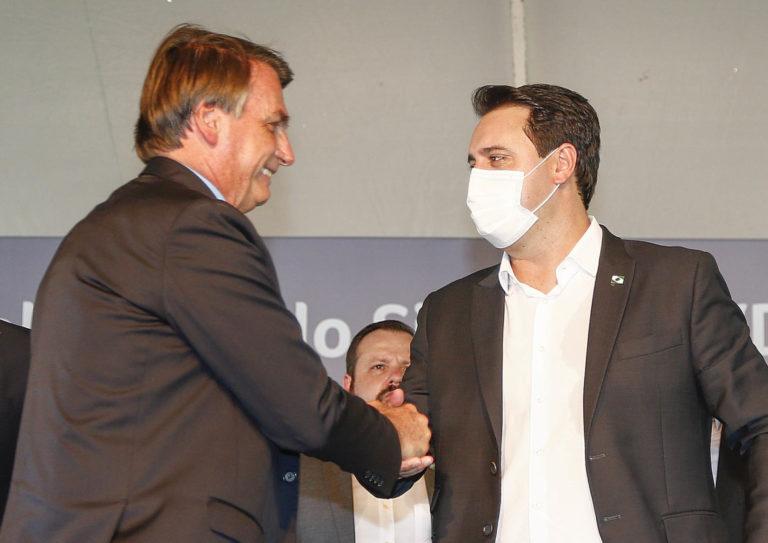 Ratinho Jr participa de criação de comitê anti-covid em Brasília