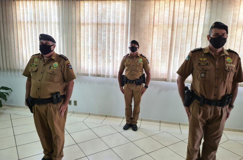 Batalhão da PM de Apucarana (PR) recebe novo comandante durante rápida solenidade