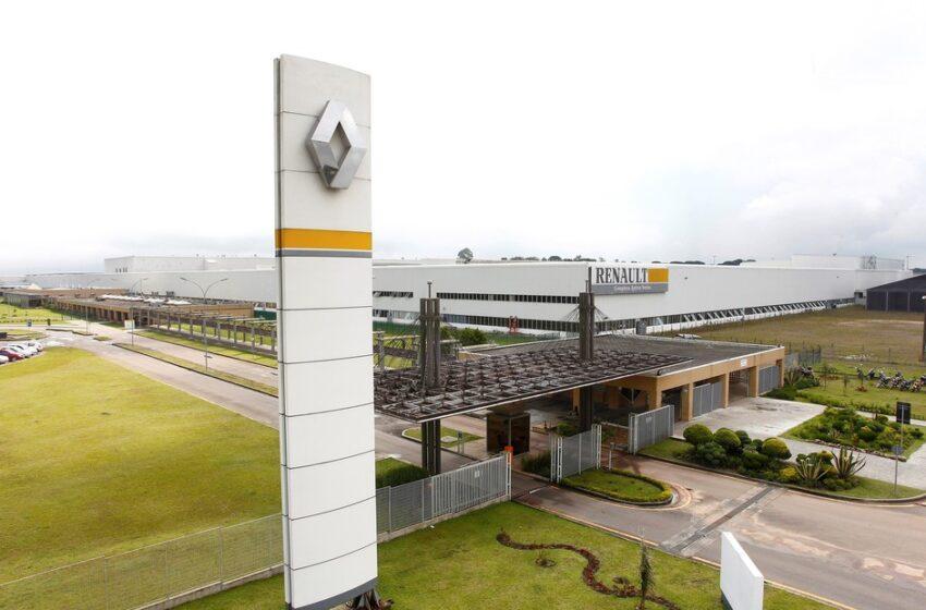 Renault suspende produção na fábrica de São José dos Pinhais