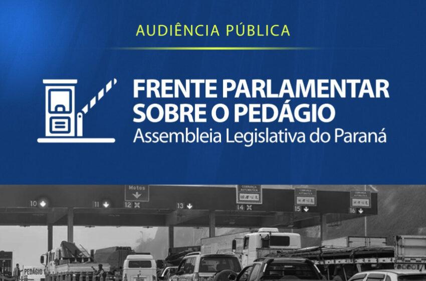 Novo modelo de pedágio será debatido com a população de Ortigueira e Telêmaco Borba