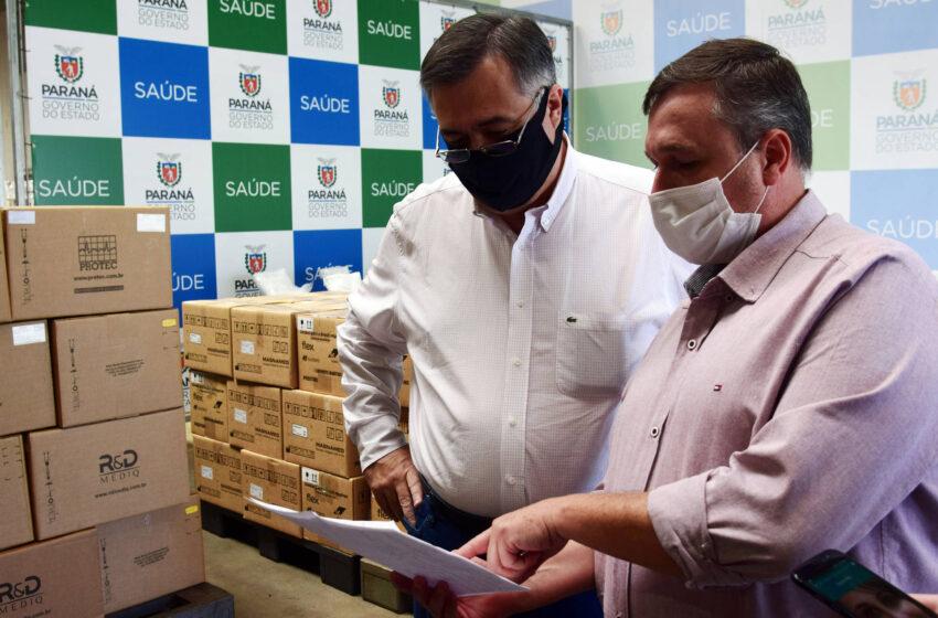 Equipamentos doados ao Paraná vão viabilizar até 70 novos leitos de UTI