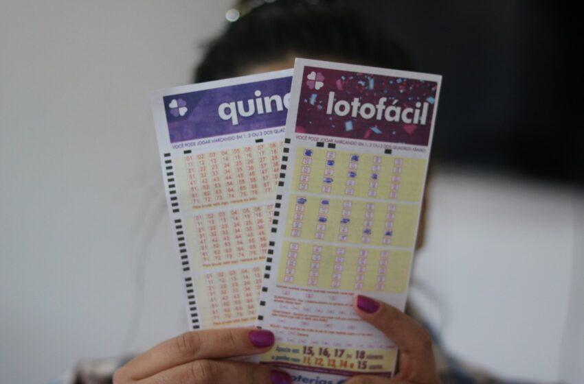 LOTERIAS – Confira os resultados da Quina e da Lotofácil