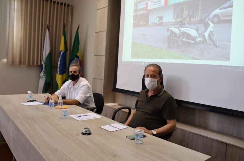 Prefeitura de Ivaiporã e Polícia Militar estudam melhorias no trânsito
