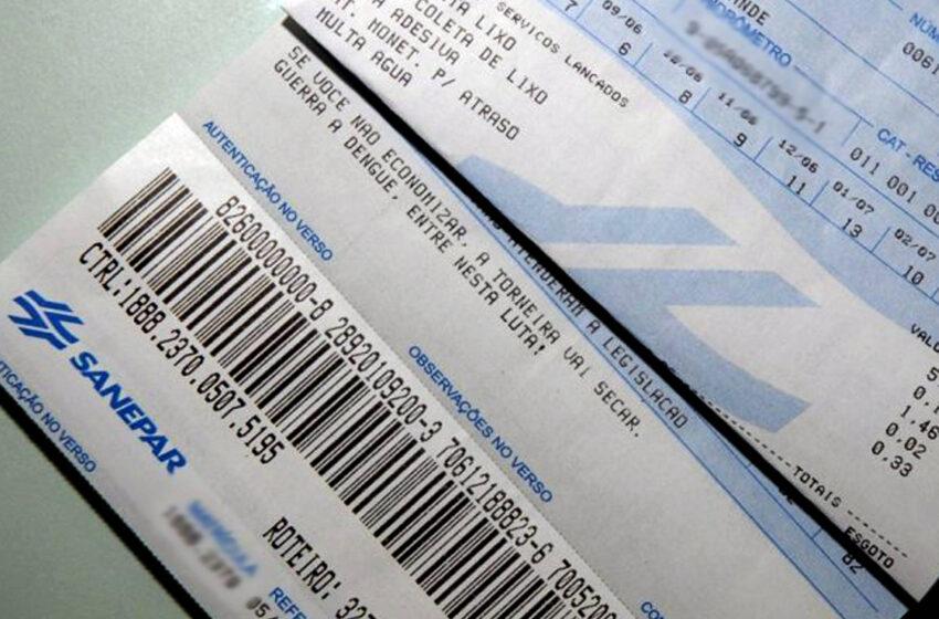 Sanepar prorroga débitos da Tarifa Social até 7 de junho