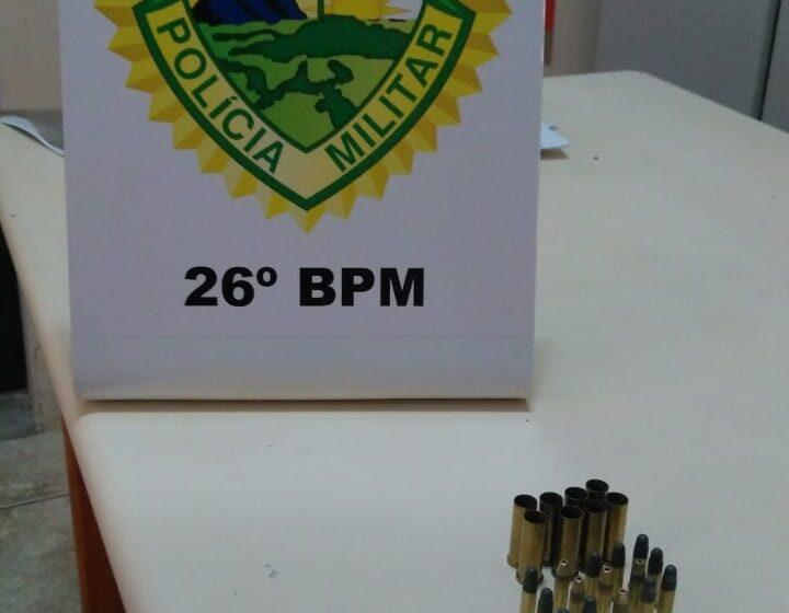 Arma de fogo é apreendida e Mandado de Prisão é cumprido pela PM em Ortigueira