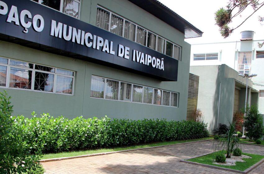 Prefeitura de Ivaiporã prorroga data de parcelamento de alvará de funcionamento