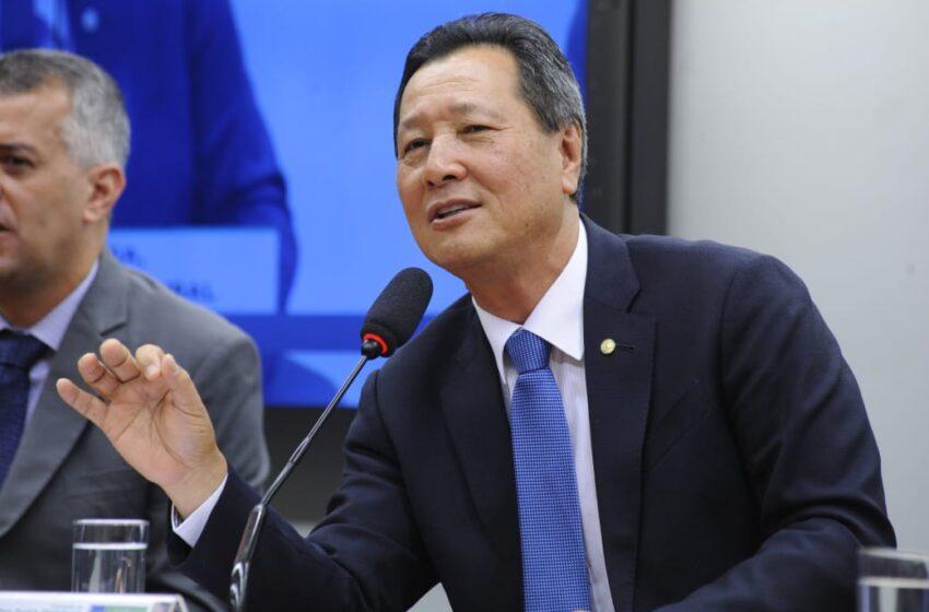 Nishimori quer criação do fundo de combate aos efeitos de calamidades públicas