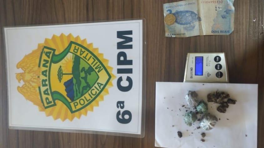 Homem foi preso acusado de tráfico em Jardim Alegre