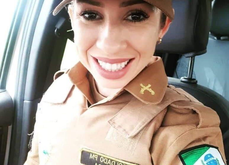 Tristeza na região com a morte da Soldado Silvia Samara Oliveira Gini