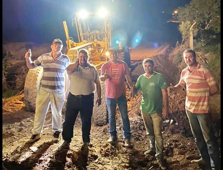 Taborda termina estrada que estava há 12 anos sendo aguardada em Rio Branco