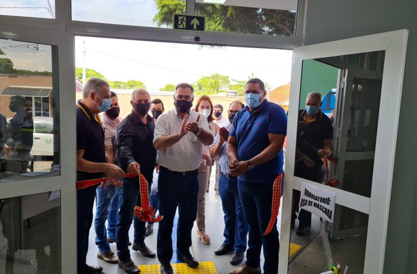 Lidianópolis inaugura nova UBS com a presença de Beto Preto
