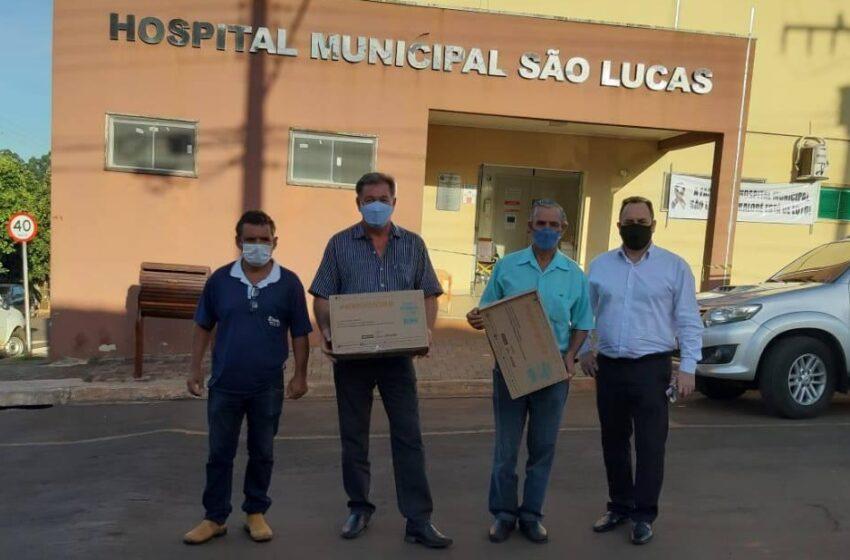 Sicredi de Kaloré doa máscaras de oxigênio não invasiva