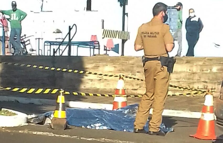 Polícia investiga homem encontrado morto próximo a prefeitura de Manoel Ribas