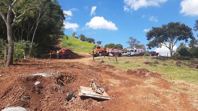 Em Jandaia, trabalhador tem corpo parcialmente soterrado