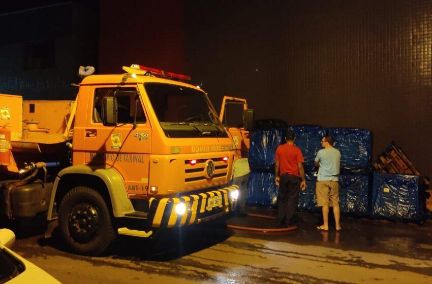 Polícia investiga incêndio registrado em Faxinal