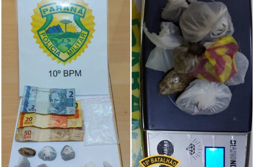 Jovens foram presos por tráfico em Marilândia