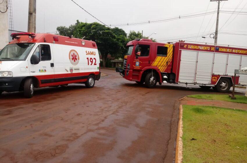 Dois acidentes envolvendo motos em Ivaiporã