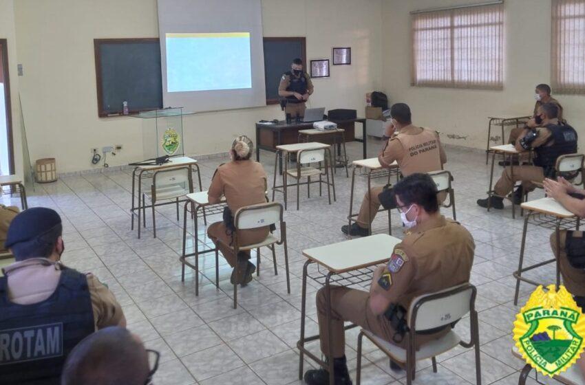 6ª CIPM de Ivaiporã, realiza instrução de primeira intervenção em crises