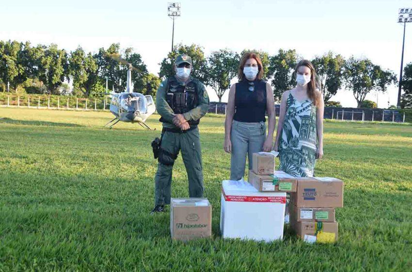 22ª RS de Ivaiporã recebe medicamentos para intubação