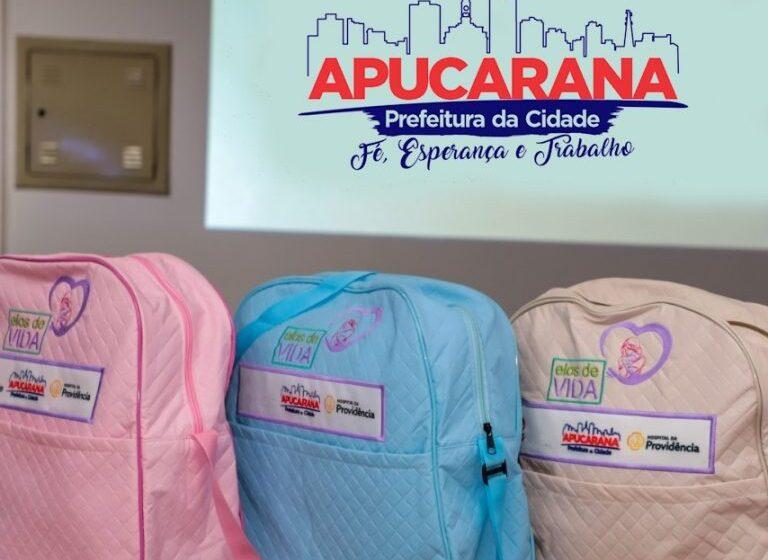 Apucarana renova convênio e viabiliza 1.000 kits de enxovais para recém-nascidos