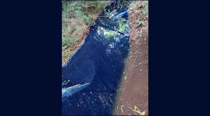Lavanderia é denunciada por crime ambiental na divisa de Rio Bom e Apucarana