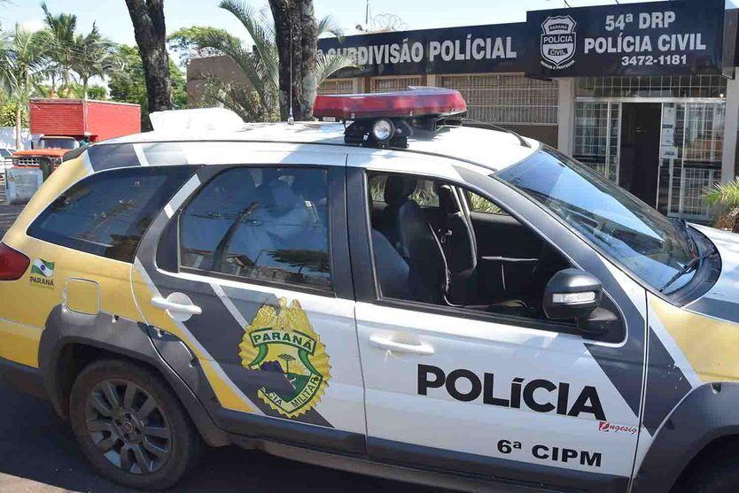 PM de Ivaiporã, prende duas pessoas por embriaguez após acidente