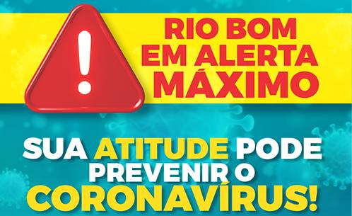 Covid-19: Comunicado da Prefeitura de Rio Bom