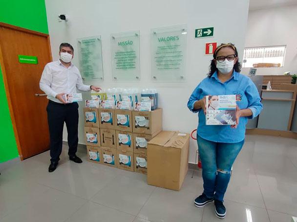 Fundo Social do Sicredi contempla entidades de Marilândia do Sul com produtos de higiene e limpeza