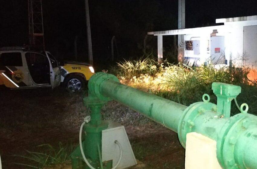 Subestação da Sanepar em São João do Ivaí é alvo de tentativa de furto na madrugada