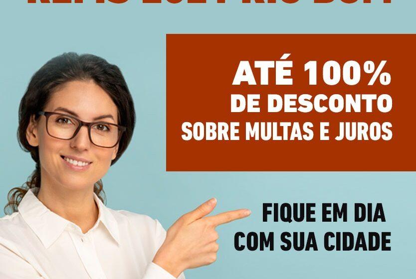 Rio Bom lança Refis com desconto de até 100% para multas e juros