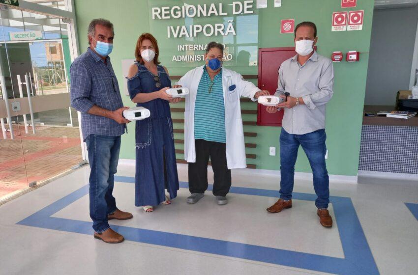 AMUVI doa 3 aparelhos ao Hospital Regional de Ivaiporã; Assista