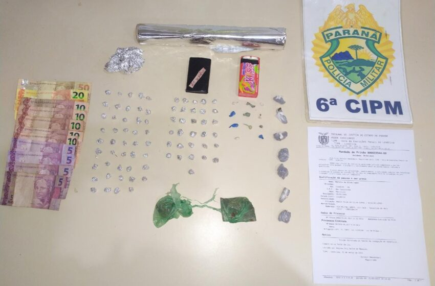 Quatro suspeitos de tráfico de drogas são presos em Faxinal
