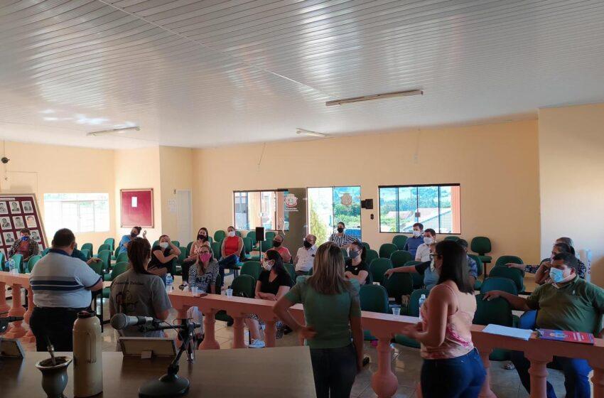 Prefeitura de Rio Branco do Ivaí realiza reunião para definir ações do Maio Laranja