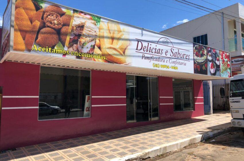 Rio Branco do Ivaí agora conta com a mais nova Panificadora Delícias e Sabores