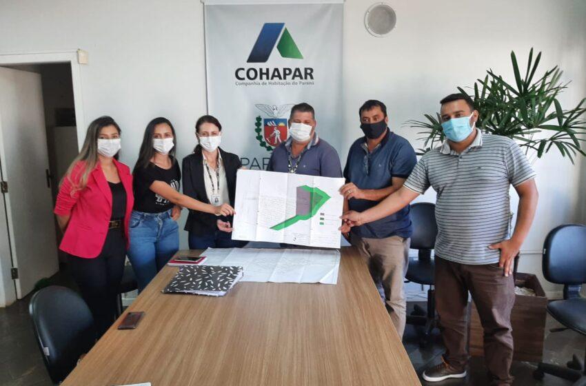 Godoy Moreira busca parceria com a Cohapar para construção de mais 43 casas