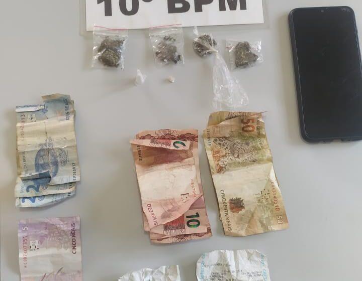 Homem é preso por suspeita de tráfico de drogas, em Mauá da Serra